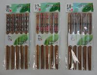"9"" Printed Bamboo Chopsticks--Assorted Prints"